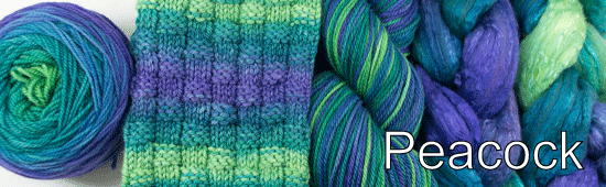 Classic feather hues of a man who lives to impress the ladies! A group of peafowl is called a Party, which is a great way to describe this colorway. Let's shake our tail feathers!